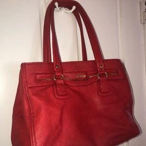 Red Olivia Joy Handbag